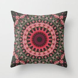 Spiritual Rhythm Mandala Throw Pillow