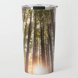 Forest at sunset Travel Mug