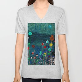 Spring Meadow Unisex V-Neck