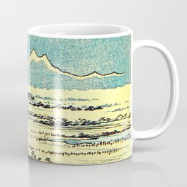Hiroshige, Hawk Flight Over Field Coffee Mug