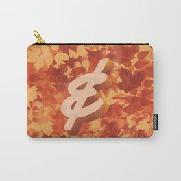 Yellowtail Ampersand Carry-All Pouch