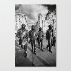 Fab Four Canvas Print