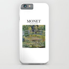 Monet - The Water Lily Pond iPhone Case