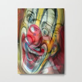 The Last Laugh Metal Print