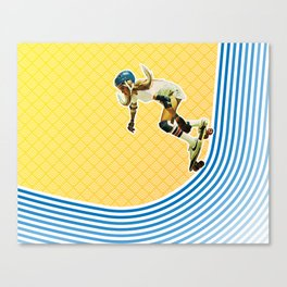 Skate Like a Girl Canvas Print