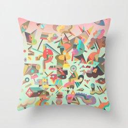 Schema 11 Throw Pillow