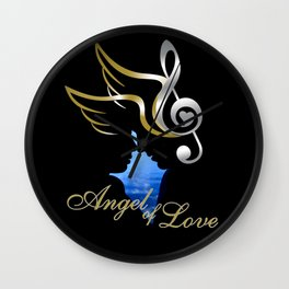 Angel of Love  Wall Clock
