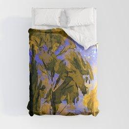 Autumn landscape Comforters