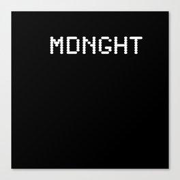 Midnight (BLCK #6) Canvas Print