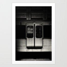 Metro Opens Doors Art Print