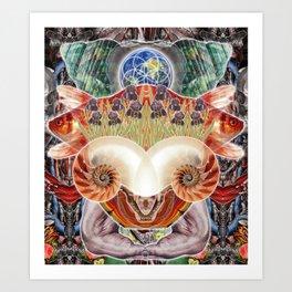 Totem of Redemption Art Print
