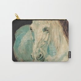 Henri De Toulouse Lautrec - The White Horse Gazelle Carry-All Pouch