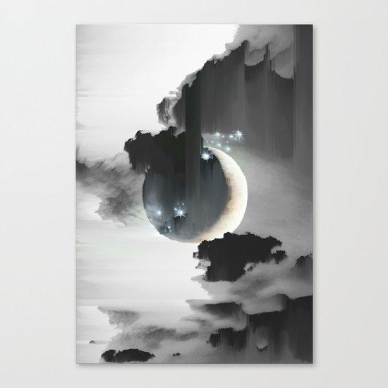 Cloud Falls Canvas Print