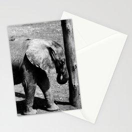 Baby Elephant 2 Stationery Cards