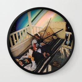 Lost in Magic Wall Clock