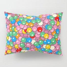 Bubble Gum Balls Juicy Tropical Fruity Pillow Sham