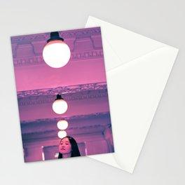 Pop Girl Light Stationery Cards