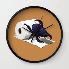 Shit Happens! (Colour) Wall Clock