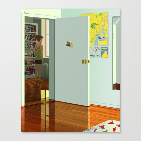 More or Less Canvas Print