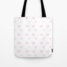 Hearts Seamless Pattern Tote Bag