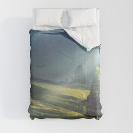 Rui DIAS landscape digital digital painting artwork fan portrait display ArtStation Comforters