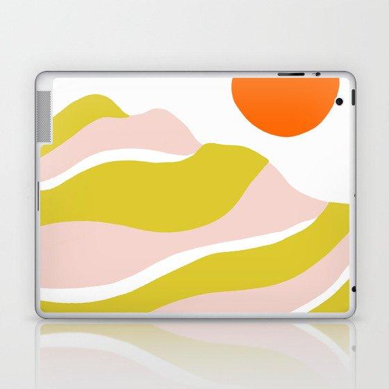 sierra mountain sunset Laptop & iPad Skin