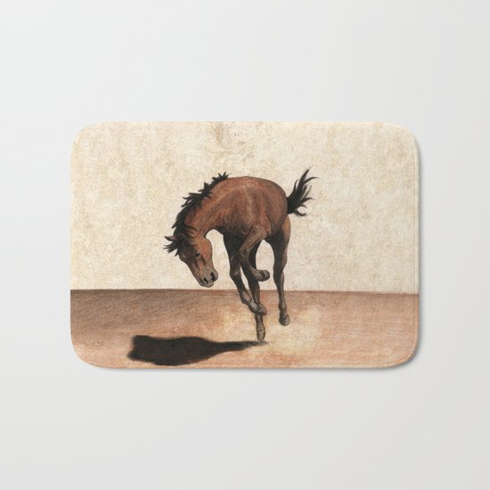 Wild horse Bath Mat
