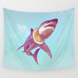 Lemon Shark Wall Tapestry