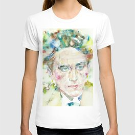 JEAN COCTEAU - watercolor portrait.2 T-shirt