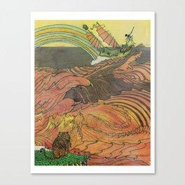 Mu Guai and the Tiger's Eye, Panel 9 Canvas Print