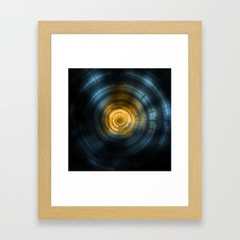 Ctrl.Sci 001: Heavy Ion Collider Framed Art Print