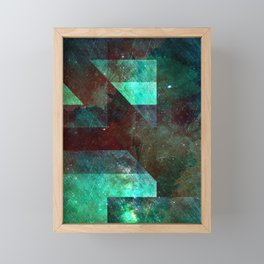 Emerald Nebulæ Framed Mini Art Print