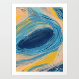 The Lonely Hour Art Print
