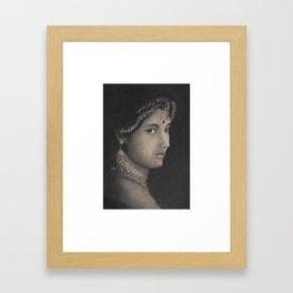 Dream Girl Framed Art Print