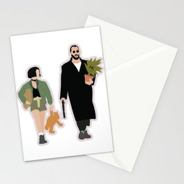 Leon the professional movie flat art Stationery Cards