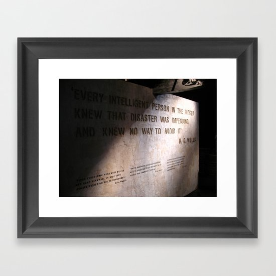 Fore Shadow Framed Art Print