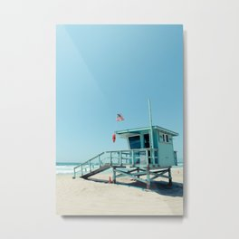 Rosecrans Tower in Manhattan Beach (El Porto) Metal Print