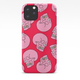 Pink Skull iPhone Case