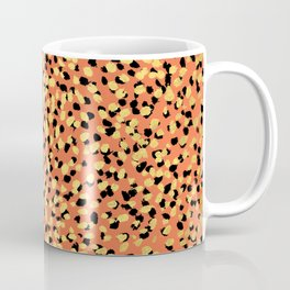 Saulo - gold glitter foil shiny sparkle art hipster dorm room college decor abstract painting Coffee Mug