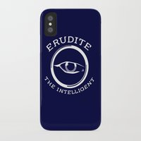 divergent iPhone & iPod Cases featuring Divergent - Erudite The Intelligent by Lunil