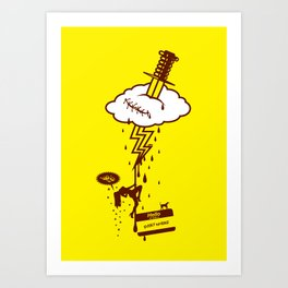 Thunderstruck Art Print