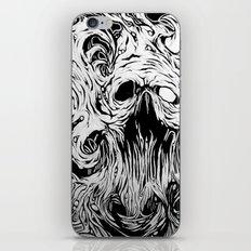 Organic Skull iPhone & iPod Skin