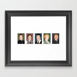 Murdoch Mysteries Framed Art Print