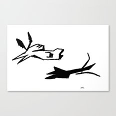 Both Canvas Print