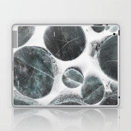 White Logs Laptop & iPad Skin