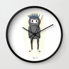 The Birthday Monster Wall Clock