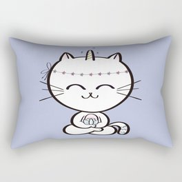 Lily Unicorn Kitty Rectangular Pillow