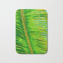 Coconut Frond in Green Aloha Bath Mat