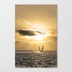 Golden Bay Canvas Print