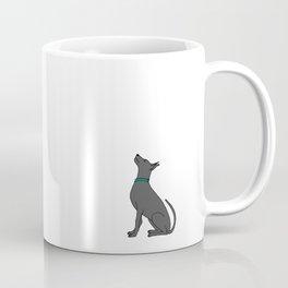 Photographer girl and dog Coffee Mug